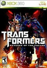 Transformers: Revenge of the Fallen (Microsoft Xbox 360, 2009) GOOD