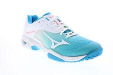 Mizuno WAVE превышает тур 3 переменного тока 61GA187125 женские синие спортивные теннисные туфли