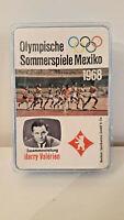 Berliner Spielkarten Quartett Olympische Sommerspiele Mexiko 1968