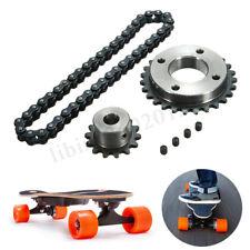 Elektrischer Longboard-Skateboard-Teil-Kettenrad-Rad-Roller DIY Motor Kit