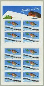 Bande Carnet BC3622 / BC37 - Meilleurs vœux (Oiseau, bleu) - 2003