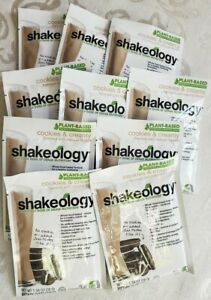10 Packets Cookies & Creamy Shakeology Unexpired