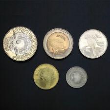 Colombia Coins Set 5 PCS: 50 100 200 500 1000 Pesos, 2016, UNC