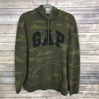 NEW NWT Mens GAP Arch LOGO Graphic Tee T-Shirt Camouflage ARMY CAMO $29 *E4
