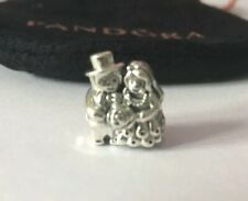Pandora Silver Bride & Groom Charm Brand New In Gift Pouch