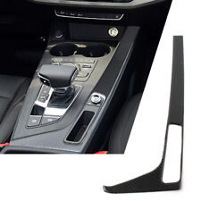 For Audi A4 B9 A5 S5 2017-2020 Console Gear Shift Box Frame Trim Cover LHD