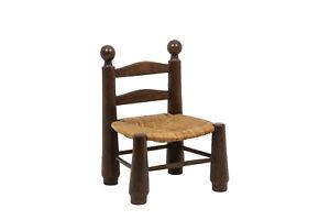 Paire de chaises en paille, années 1940, LS4543331