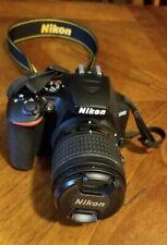 Nikon D3500 DSLR Camera with 18-55mm and 70-300mm Lenses - Black