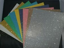 Simply Creative A4 Glitter Felt sheets - 10 Colours