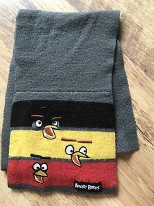 Angry Birds Winter Childs Scarf Age 4-8