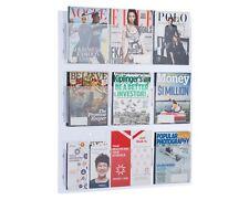 AdirOffice Hanging Magazine Rack with Adjustable Pockets 29 x 35 inches