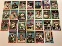1975 Topps PITTSBURGH PIRATES Complete TEAM Set WILLIE STARGELL Clemente PARKER