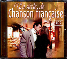 UN SIECLE DE CHANSON FRANCAISE - CD 02 - 1934 / 1936 - CD COMPILATION [555]