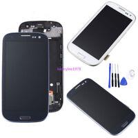 Para Samsung Galaxy S3 Neo i9300i i9301 i9308i LCD Display Táctil Pantalla+frame