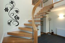 Flowers Wall Vinyl Sticker Tattoo Flowers Decorations For Living Rooms Stairs D2