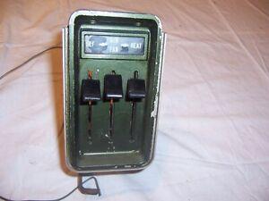 1964 -1966 Chevy Pickup Truck + Suburban Dash Heater Control Unit Original GM