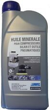 Huile mineral ABAC spéciale compresseur silair et outils pneumatique