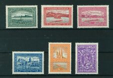 Yugoslavia 1932 Rowing Championships full set of stamps. Mint. Sg 264-269.