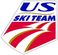 "US Ski Team USA Car Bumper Window Sticker Decal 4""X5"""