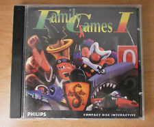 FAMILY GAMES I 1 - PHILIPS CD-I *BEST OFFER* *BOX + MANUAL ONLY* *TRACKED*