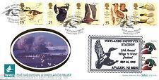 1996 WWT-Benham Llanelli oficial-duplicado Pato De Madera Usa - 250 solamente!