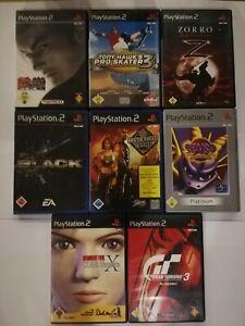 Playstation 2 Spiele Paket