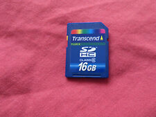 Transcend 16GB SDHC Class 6 SD Card Memory Card For Digital Camera Camcorder