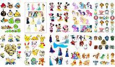 angry bird baymax Disney princess Frozen octonaut mickey pony matt stickers