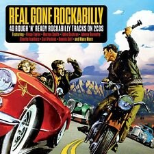 Real Gone Rockabilly VARIOUS ARTISTS Best Of 40 Rough N Ready Songs NEW 2 CD