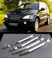 ROYAL CHROME RHD Door Handle Cover Trims for Mercedes Benz W163 98-05 M ML Class