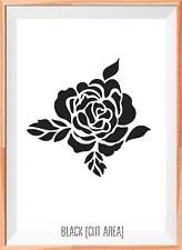 Rosa V. MYLAR riutilizzabile Stencil Aerografo Pittura Arte Craft fai da te Home Decor