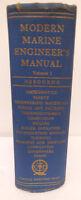 Libro manuale nautica Modern Marine Engineer's Manual volume I