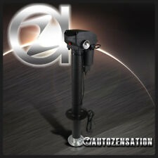 Electric Power 12V RV Camper Trailer 3500lbs Tongue Jack Adjustable Foot