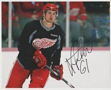 Xavier Ouellet AUTOGRAPH Detroit Red Wings 8x10 PHOTO SIGNED