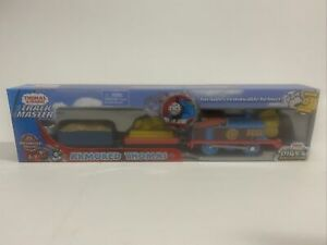 Thomas and Friends Trackmaster Armored Thomas Motorized Engine Train New in Box