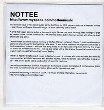 (EV645) Nottee, Control - 2009 DJ CD