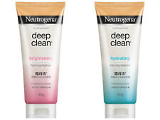 2x New NEUTROGENA Deep Clean Hydrating Brightening Face Wash Cleanser Foam 100g