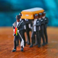 Coffin Dance Action Figure Dancing Pallbearers Models Toys Funeral Dancing Team