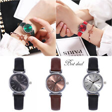 Ladies Wrist Watches Women Casual Watch Quartz Analogue Leather S Steel Gift Uk