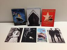 TITANIC (Cult-Stuff/2012) Complete 27 Card Set + ALL 3 CHASE, 2 PROMOS & MINI