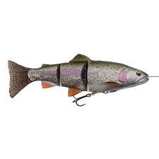 Savage Gear Kunstköder angeln Hecht - 4D Line Thru Trout 15cm 35g SS Rainbow