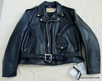 Schott Nyc PERFECTO Rider 618 SteerHide Leather Motorcycle Jacket New/tag sz 50