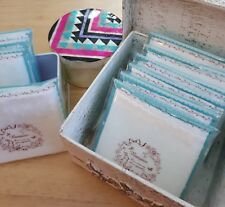 4 Muslin Face Cloths Facial Hot Cloth Cleansing 100% Cotton Individually Wrapped