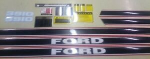 Ford 3910 Hood Cautions,Pto,Lift,8 speed Shift Decals