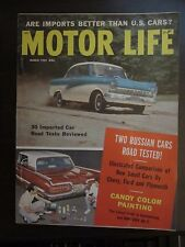 Motor Life Magazine March 1959 Ford Taunus Imported Cars Candy Color Paint VV FF