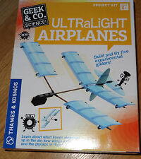 Ultralight Airplanes project kit science Geek & Co. Physics of flight gliders