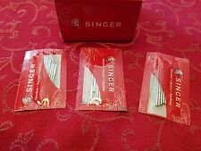 30 Singer Sewing Needles 8500Q,Heavy Duty 4452,4432,4411,Talent 3321,Simple 3232