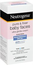 Neutrogena Pure and Free Baby Sunblock, Spf 45+, 2.5oz (Pack Of 3)Exp.2017/09