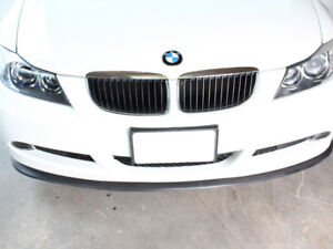 Universal Fit Front Lip Bumper Splitter Valance Trim For BMW All Models