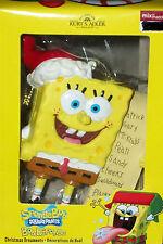 Spongebob Squarepants Ornament Tree Holiday Xmas Santa Decoration Kurt Adler